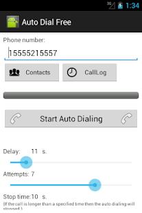 Auto Dial Free