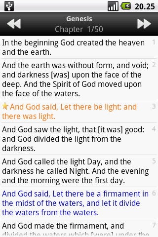 Holy Bible (KJV)  screenshots 3