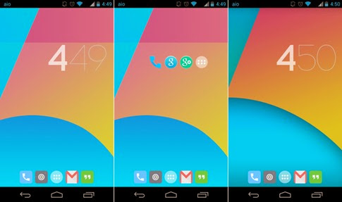 Novedades de Android KitKat 4.4.3