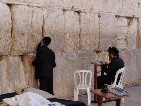 Obiective turistice Ierusalim: Zidul plangerii