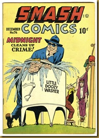 Smash Comics 74 cover Jack Cole Midnight
