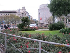 Площадь Каталонии. Барселона, центр