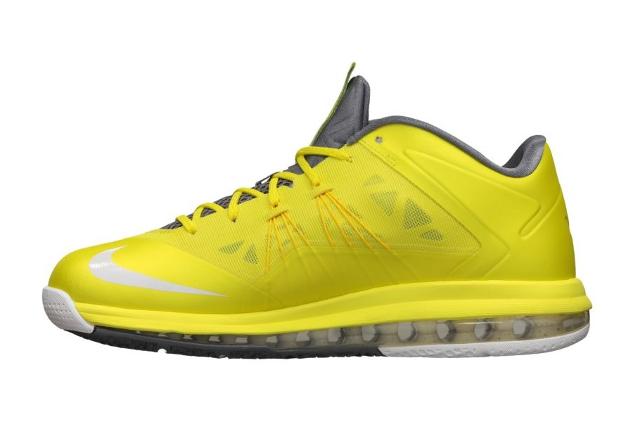 cheap for discount 14cf9 2543f ... Release Reminder Nike Air Max LeBron X Low Sonic Yellow ...