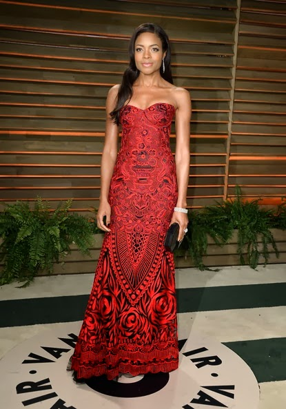 Naomie Harris attends the 2014 Vanity Fair Oscar Party