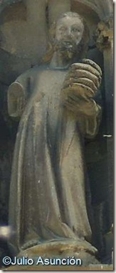 Iglesia del Santo Sepulcro - Estella- Cristo en el milagro de los panes y los peces