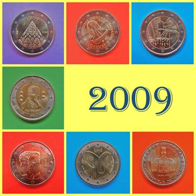 2009 2 Euros conmemorativos