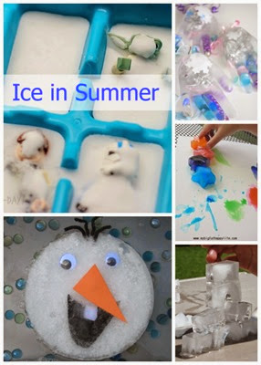 Summer Icy Play Ideas from Planet Smarty Pants