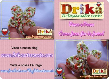 6 Passo a Passo como fazer fuxico Drika Artesanato post