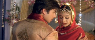 Prem and Poonam on their wedding night