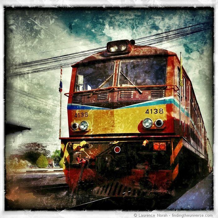 Train travel in Thailand