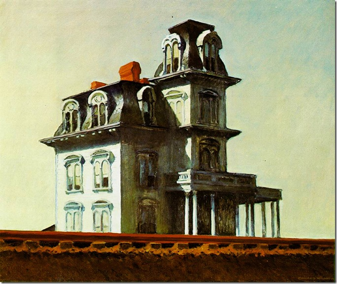 Edward_Hopper_House_by_the_railroad_1925