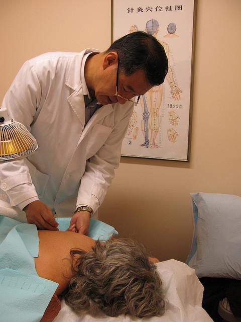 Лечение паралича лицевого нерва иглоукалыванием
