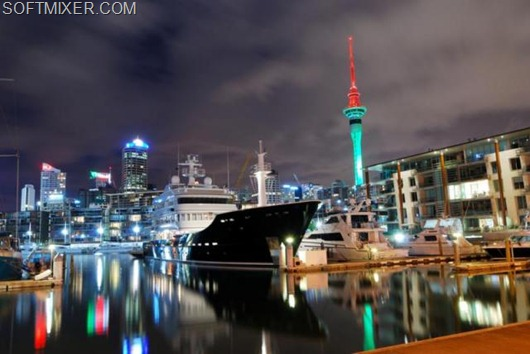 Auckland city at night.preview