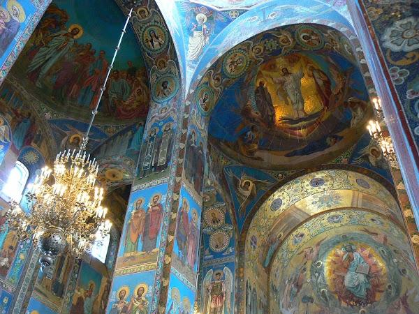 Obiective turistice Rusia: Spas na Krovi, Sankt Petersburg