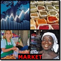 MARKET- 4 Pics 1 Word Answers 3 Letters