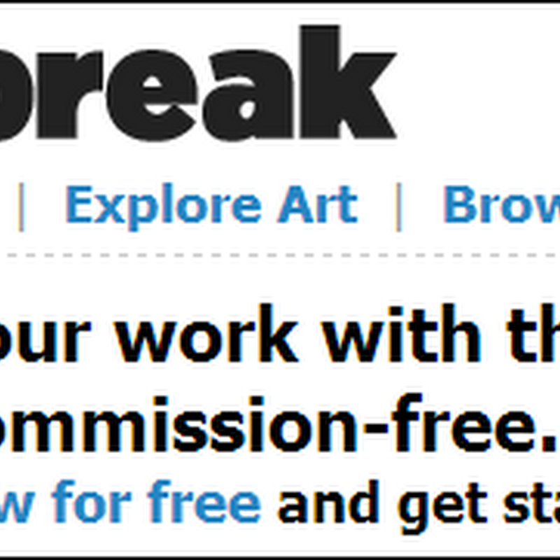 Artbreak Review – Sell Art Commission Free and Network with Artists