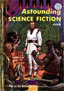 Cover by Freas of Astounding Science Fiction magazine, British edition, June 1958