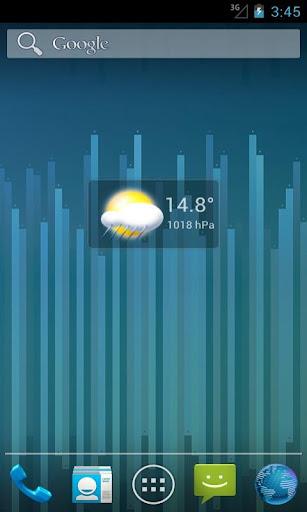 Micro Transparent Weather PRO