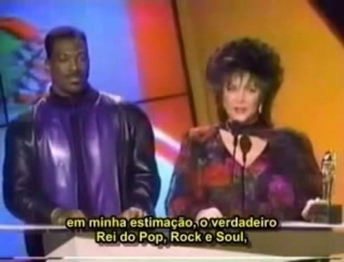Rei do pop,Rock e soul