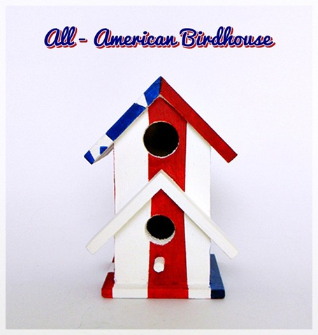 All-American Birdhouse