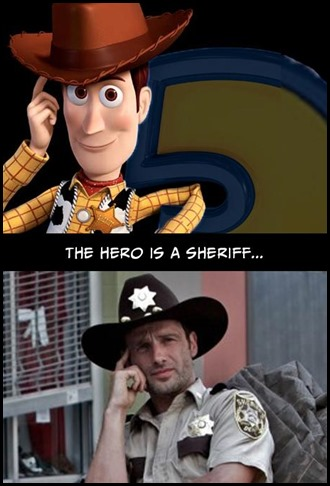Walking Dead v Toy Story 1