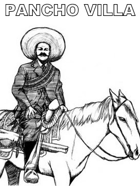 Colorea Y Aprende Figuras De La Revolucion Mexicana