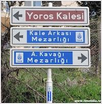 Дорога к развалинам Йороса