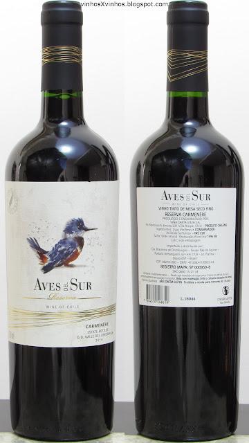 Aves Del Sur Carménère