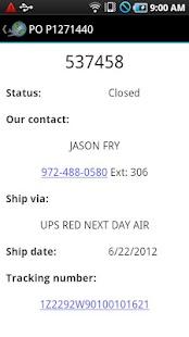 Aircraft Inventory Mobile- screenshot thumbnail
