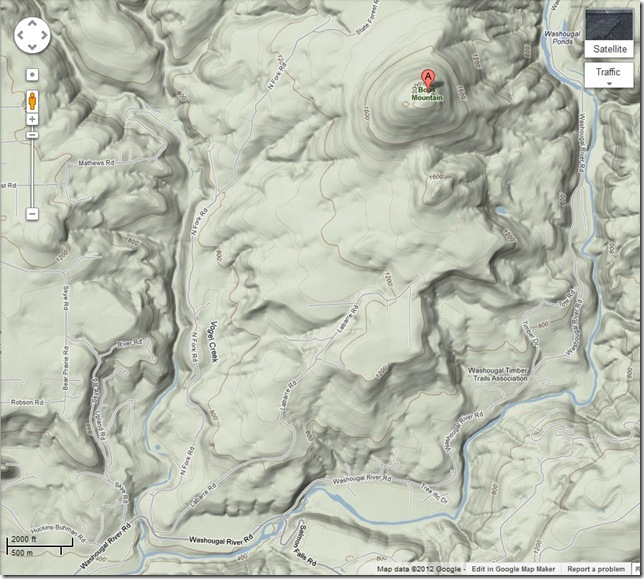 Bobs Mountain - Google Maps