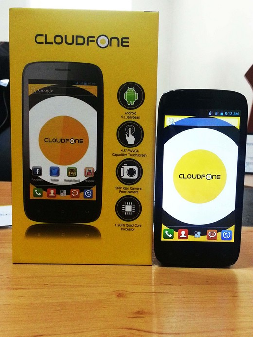 Cloudfone Excite 450q Specs Price Philippines