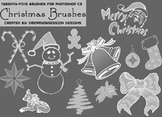 christmasbrushes