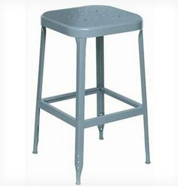 metal industrial barstool from wayfair