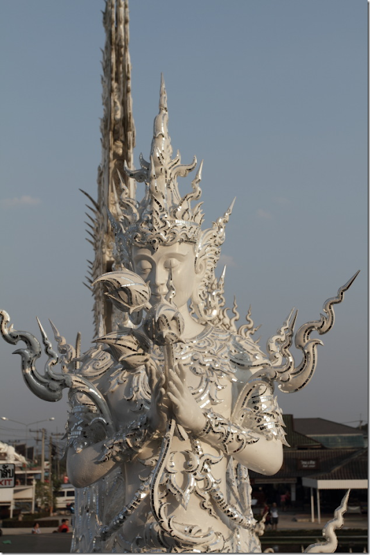 Statue at White Temple, Chiang Rai