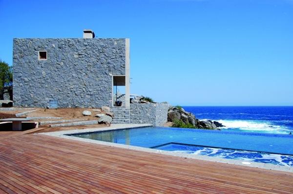 Casas de playa con piscina en Punta Pite