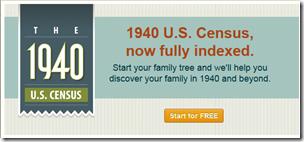 Ancestry.com.完成发布1940年美国人口普查