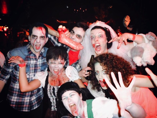 zombie day party