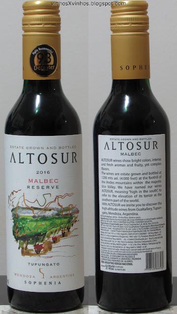 vinho Altosur Malbec