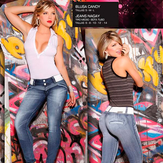 Angelica Jaramillo y Sofia Jaramillo Axxys Jeans Foto 13