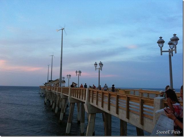 Beach Jeanette's Pier