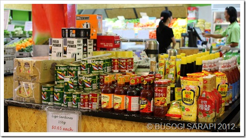 VAN LONG FRONT PRODUCTS TABLE© BUSOG! SARAP! 2012