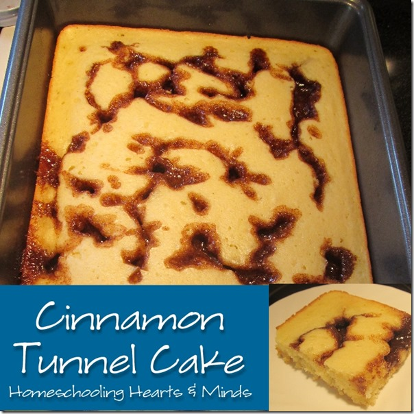 Cinnamon Tunnel Cake Recipe at Homeschooling Hearts & Minds
