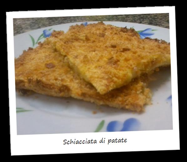 Fotografia della ricetta schiacciata di patate