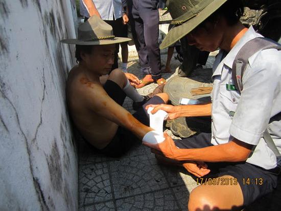 TraiDungThuaThioem2013 20 BHD GĐPT Thừa Thiên tổ chức Trại Dũng năm 2013