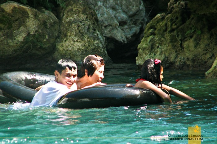 Tourists Having a Grand Time at Pangasinan's Bolinao Falls 2