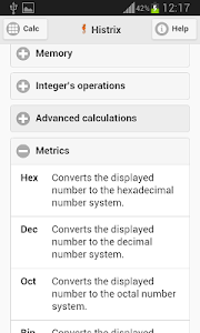 Histrix Calculator screenshot 3