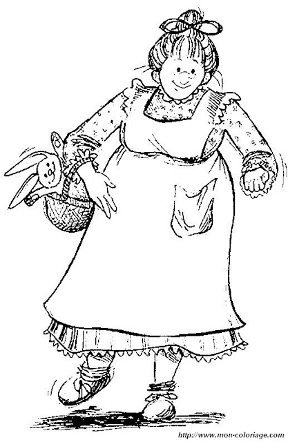 Grandmother Coloring Pages