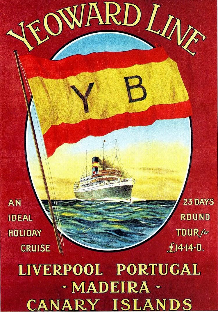 Poster tipico de Yeoward, hacia 1.913. Del libro Sunward by Yeoward.JPG