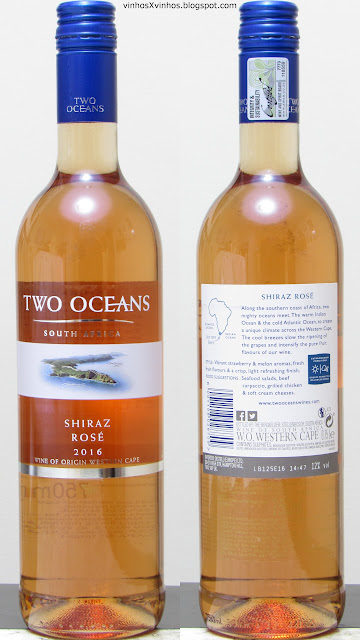 Two Oceans Shiraz rosado