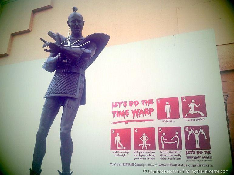 Richard o brien statue hamilton